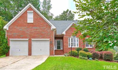 Wake Forest Single Family Home Contingent: 209 Watchet Place