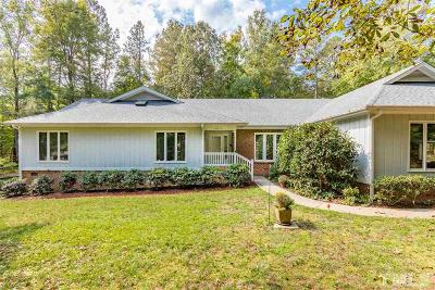 Apex Single Family Home For Sale: 4012 Harriat Drive