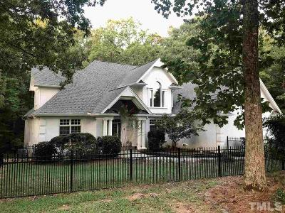 Wake County Single Family Home For Sale: 11016 Honeycutt Road