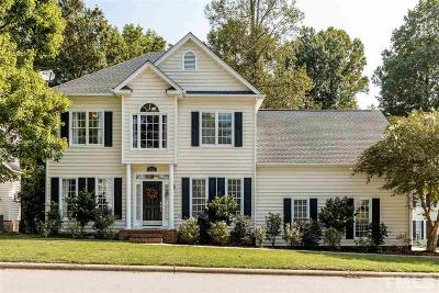 Wake County Single Family Home For Sale: 8600 Clivedon Drive