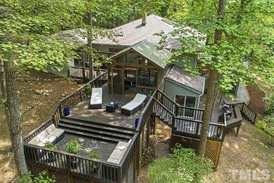 Chatham County Single Family Home For Sale: 1002 Clearwater Lake Road