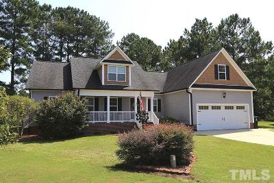 Johnston County Single Family Home Contingent: 108 Pinewinds Court