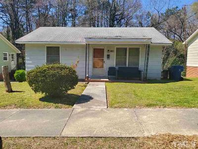 Durham Single Family Home For Sale: 1206 Grant Street