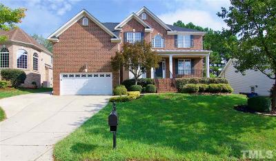 Raleigh Single Family Home Contingent: 2805 Crystal Oaks Lane