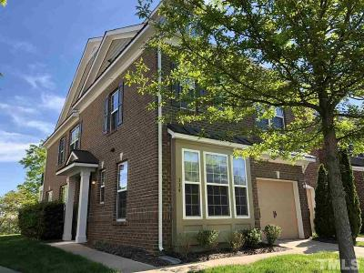 Cary Townhouse For Sale: 334 Longchamp Lane
