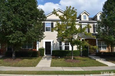 Knightdale Townhouse For Sale: 504 Sternwheel Way