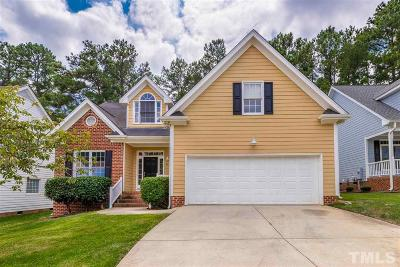Wake County Single Family Home Pending: 8620 Paddle Wheel Drive