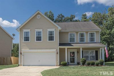 Holly Springs Single Family Home For Sale: 105 Holly Thorn Trace