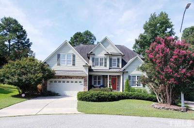 Fuquay Varina Single Family Home For Sale: 831 Red Hawk Court