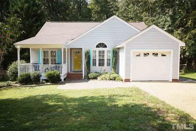 Wake Forest Single Family Home For Sale: 717 Wallridge Drive