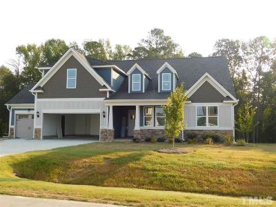 Garner Single Family Home Pending: 165 Waterpine Drive