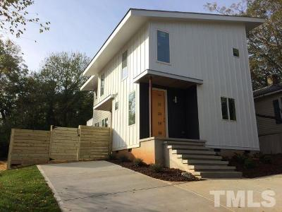 Raleigh Single Family Home For Sale: 11 St Augustine Avenue