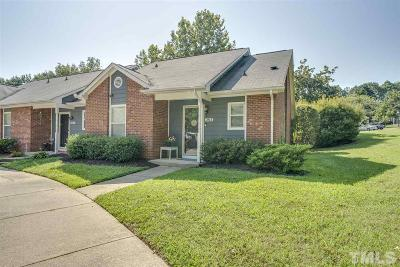 Knightdale Townhouse For Sale: 303 Pine Forest Trail