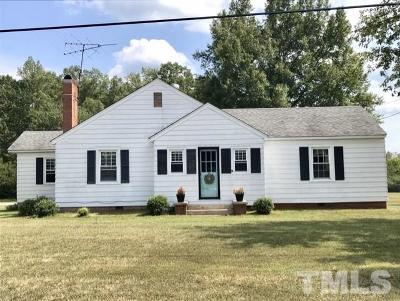 Orange County Single Family Home For Sale: 7111 Nc 57 Highway