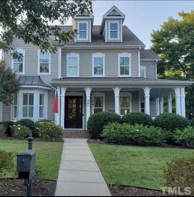 Wake Forest Single Family Home For Sale: 701 Walters Drive