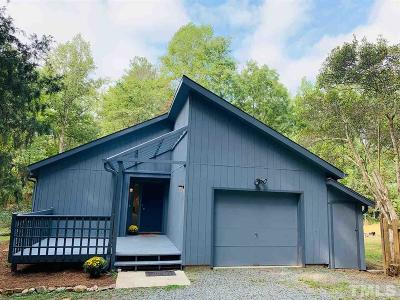 Chapel Hill Single Family Home For Sale: 429 Robin Road