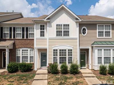 Raleigh Townhouse For Sale: 4406 Sugarbend Way