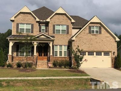 Cary Single Family Home For Sale: 1409 Magnolia Bend Loop