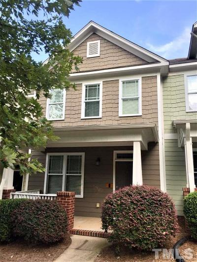 Chatham County Townhouse For Sale: 136 Millbrook Drive