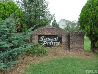 Johnston County Residential Lots & Land For Sale: 144 Sunset Pointe