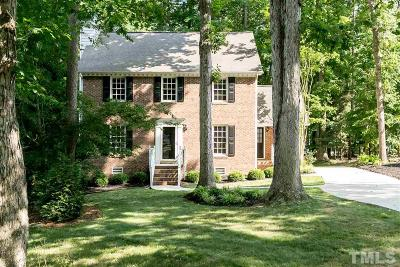 Raleigh Single Family Home For Sale: 8500 Council Court