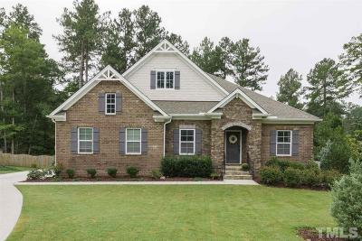 Chatham County Single Family Home For Sale: 110 S Parkside Drive
