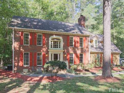Wake County Single Family Home For Sale: 1112 Berwyn Way