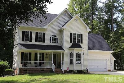 Raleigh Single Family Home For Sale: 2537 Toll Mill Court
