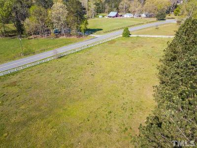 Chatham County Residential Lots & Land For Sale: 2585 Marthas Chapel Road