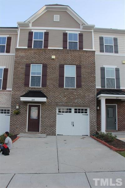 Morrisville Rental For Rent: 643 Berry Chase Way