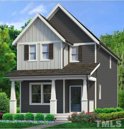 Wake County Single Family Home For Sale: 1088 To Be Added Drive #1088