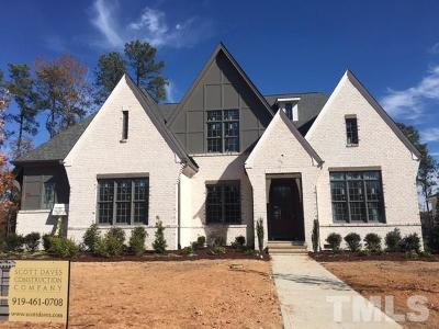 Cary Single Family Home For Sale: 1605 Montvale Grant Way