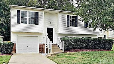 Raleigh NC Single Family Home For Sale: $199,900