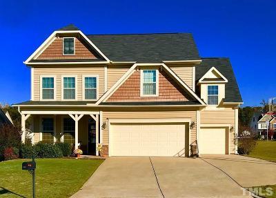 Johnston County Single Family Home For Sale: 148 Trevor Ridge