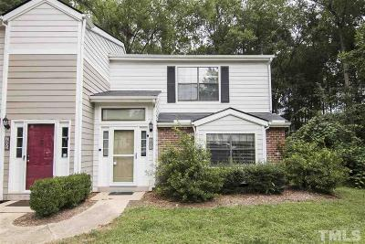 Raleigh Townhouse For Sale: 7807 Falcon Rest Circle