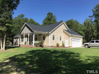 Chatham County Single Family Home For Sale: 1568 Nc 42 Highway