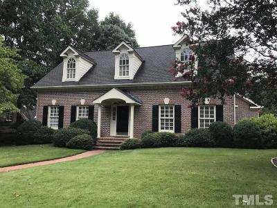 Raleigh Single Family Home For Sale: 4103 City Of Oaks Wynd