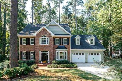 Raleigh Single Family Home For Sale: 4021 Lake Springs Court