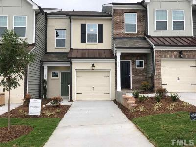 Durham County Townhouse For Sale: 823 Malta Way