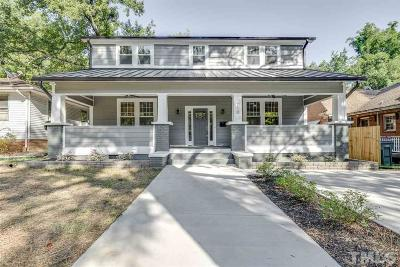 Durham Single Family Home For Sale: 710 Colonial Street