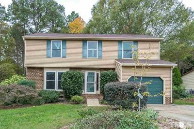 Cary NC Single Family Home For Sale: $290,000