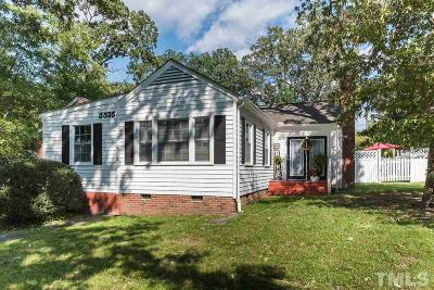 Durham County Single Family Home For Sale: 3335 Old Chapel Hill Road