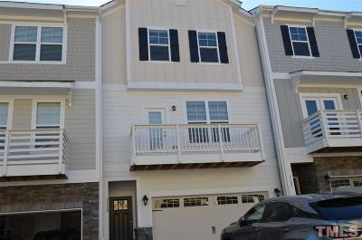Apex Townhouse For Sale: 1110 Finch Court