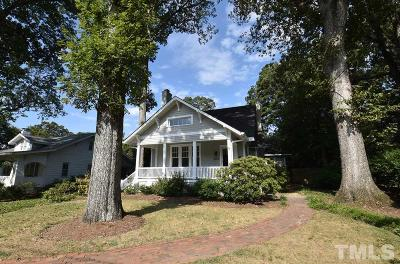 Raleigh NC Single Family Home For Sale: $725,000