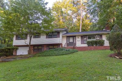 Raleigh NC Single Family Home For Sale: $515,000