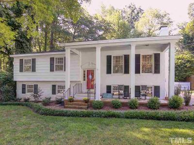 Raleigh NC Single Family Home For Sale: $449,900