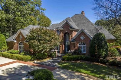 Raleigh NC Single Family Home For Sale: $900,000