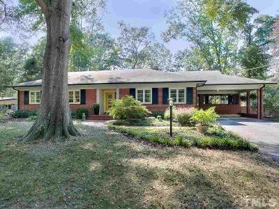 Durham Single Family Home For Sale: 3832 Somerset Drive