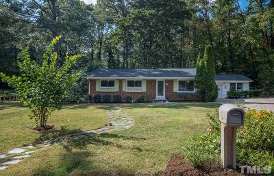 Durham Single Family Home For Sale: 109 Putnam Lane