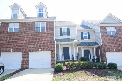 Durham County Townhouse For Sale: 4316 Flintlock Lane